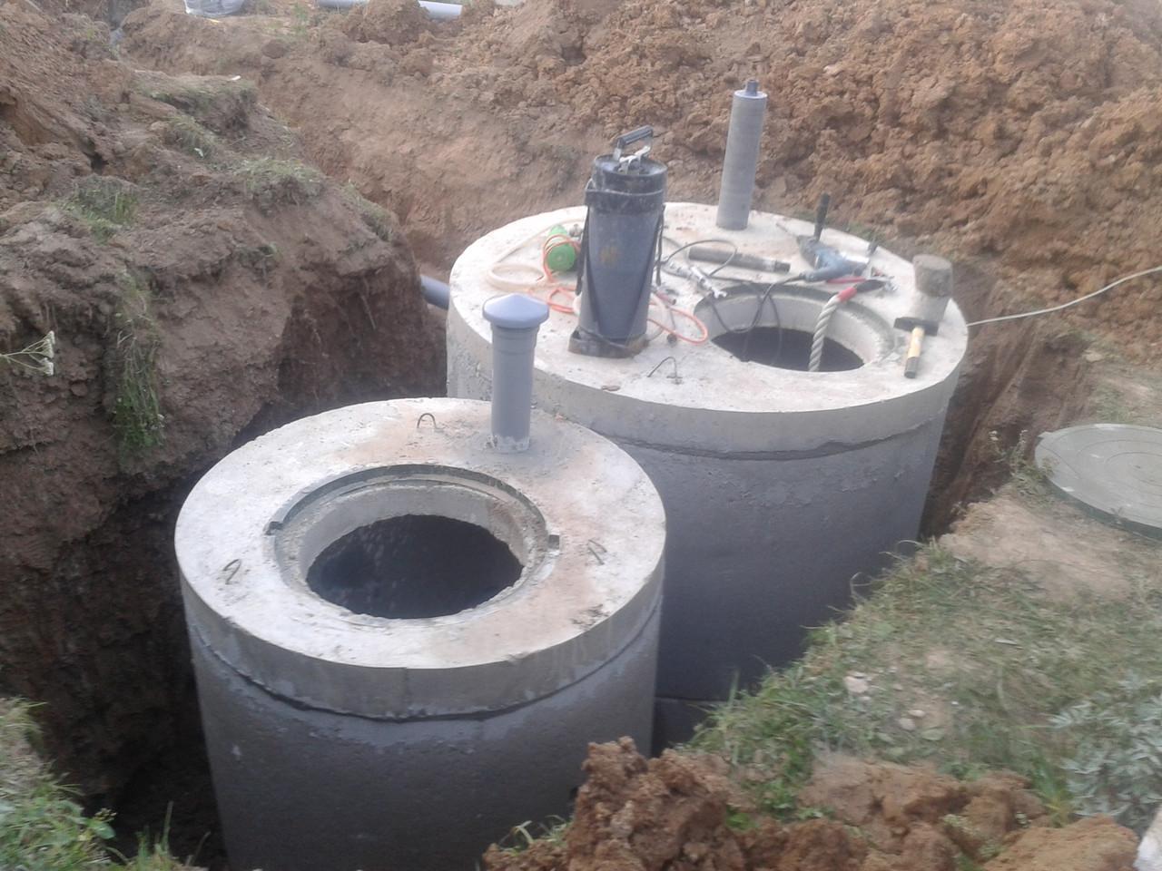 Вентиляция септика из бетонных колец