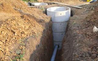 На какой глубине прокладывать канализацию