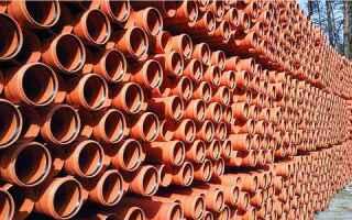 Трубы НПВХ напорные канализационные