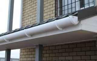 Пластиковые водосточные системы для крыши