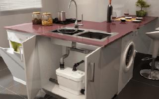 Насос канализационный в квартире для кухни