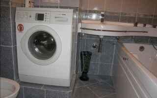 Установка и подключение стиральных машин: делаем сами
