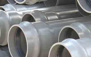 Какие трубы нужно использовать для напорной и ливневой канализации