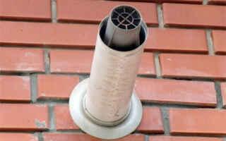 Как выбирается коаксиальная труба для газового котла