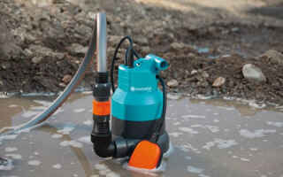 Как работают дренажные насосы для грязной воды: выбор по параметрам