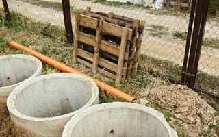Как сделать септик для дачи из бетонных колец своими руками