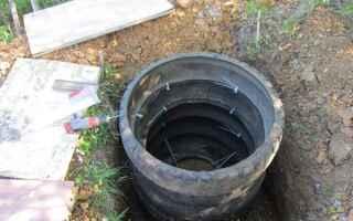 Как сделать септик из покрышек для канализации