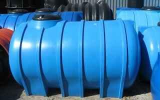 Накопительные и выгребные ёмкости для канализации