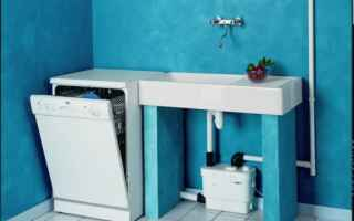 Кухонные канализационные насосы: виды и особенности