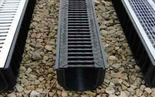 Дренажные решетки для пластиковых водостоков