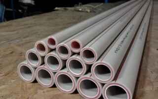 Диаметры полипропиленовых труб для отопления и водоснабжения
