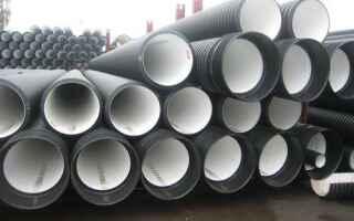 Применение гофрированных канализационных труб