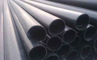 Полиэтиленовые трубы в устройстве канализации: характеристики