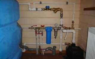 Видеоинструкция разводки водопровода в частном доме