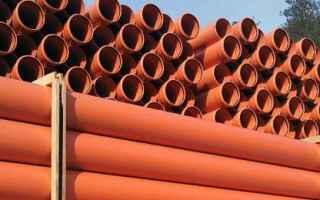 Трубы пвх для наружной канализации рыжие 250мм