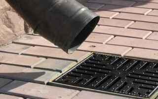 Устройство ливневой канализации частного дома