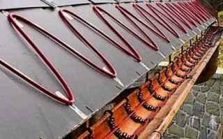 Обогрев водостоков кровли саморегулирующимся кабелем