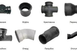 Типы фитингов для канализации