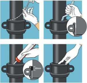 Работа с герметиком