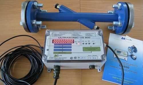 Ультразвуковой расходомер счетчик сточных вод