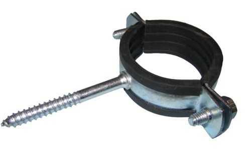 Надежный крепеж для канализационной трубы