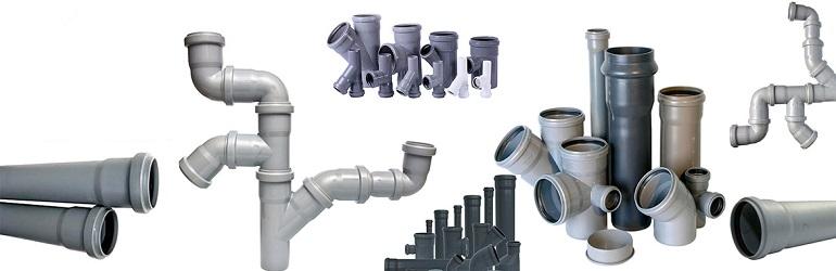 Трубы и фитинги для напорной канализации