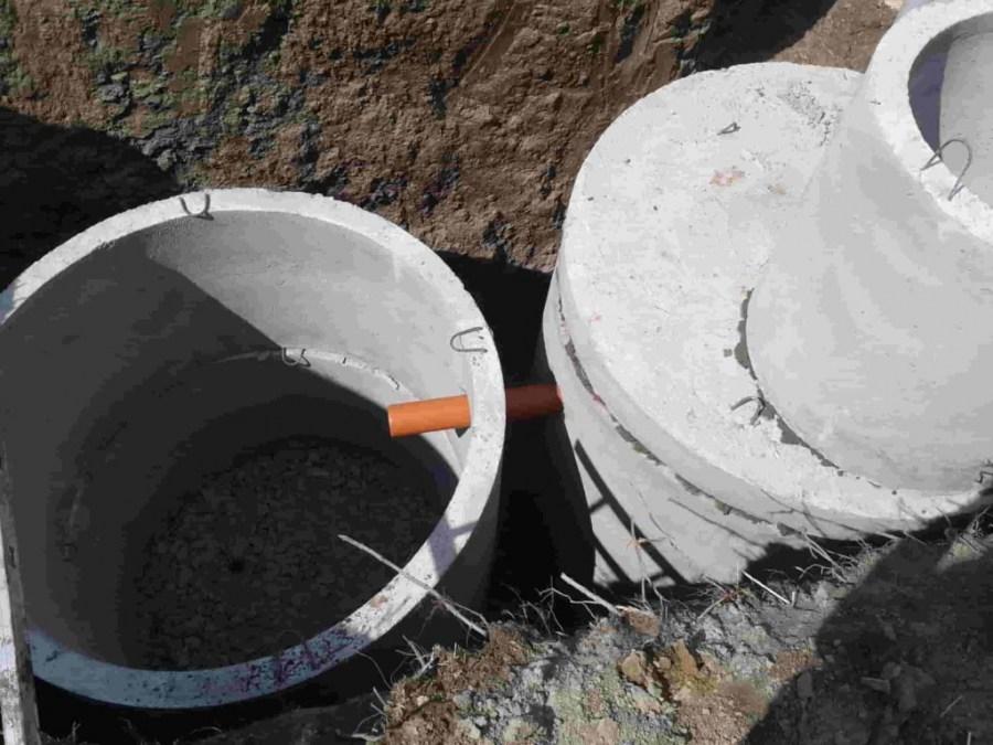 Септик для дачи из бетонных колец своими руками