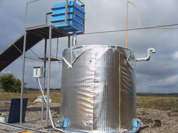 Биогазовый электрогенератор