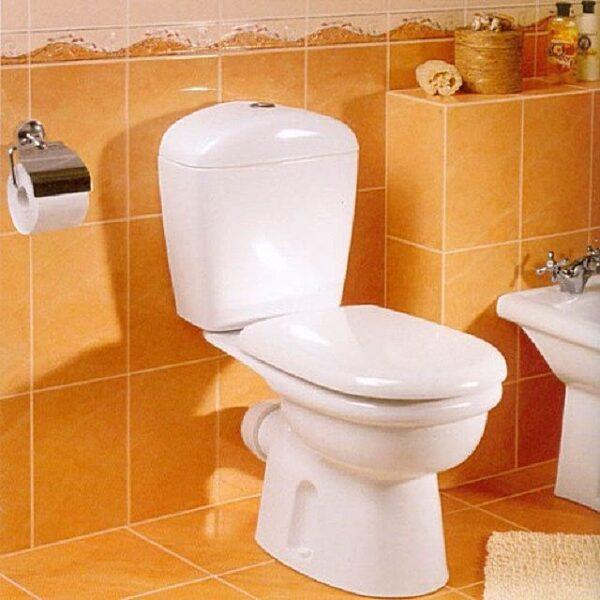 как установить унитаз на плитку в туалете